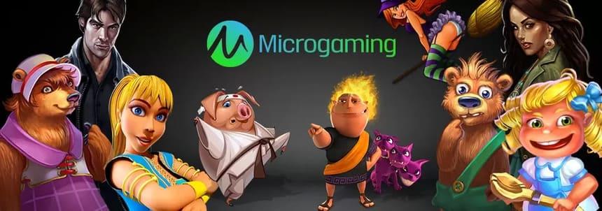 Välj från över 800 spel i Microgamings utbud